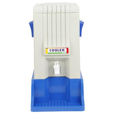 คูลเลอร์พร้อมฐานรอง 9ลิตร น้ำเงิน คีปอิน RW0336