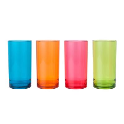 ชุดแก้วน้ำ (แพ็ค 4ใบ) คละสี บาสเก็ต 9650