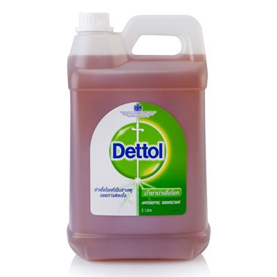 น้ำยาทำความสะอาดฆ่าเชื้อ ไฮยีน 5 ลิตร เดทตอล