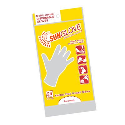 ถุงมือพลาสติก (แพ็ค 24 ชิ้น) ซันโกลฟ