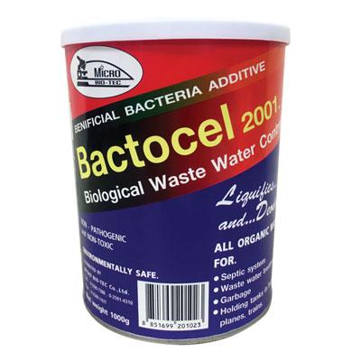 จุลินทรีย์ ผงกำจัดกลิ่นโถส้วม 1,000 กรัม แบคโตเซล 2001