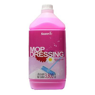 น้ำยาม๊อบ เดรสซื่ง ฟลอรัลเฟรช 3.8 ลิตร ซันโว