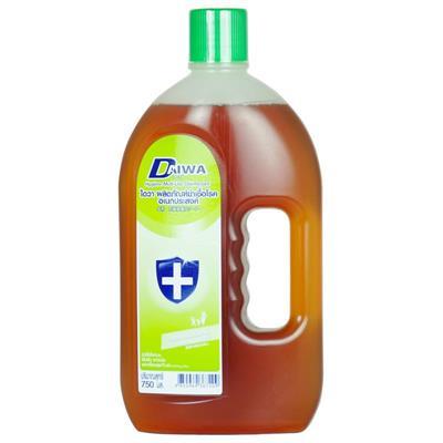 น้ำยาฆ่าเชื้อโรคอเนกประสงค์ 750 มล. น้ำตาล ไดวา