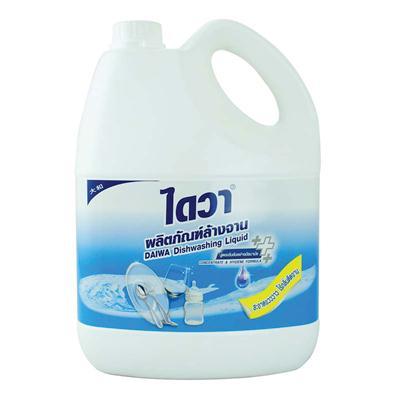 น้ำยาล้างจานสูตรอนามัย 3800 มล. ขาว ไดวา