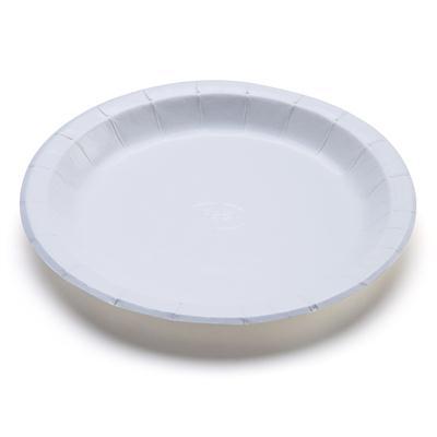 จานกระดาษขาว 9นิ้ว ไม่พิมพ์ลาย (แพ็ค50ใบ) FEST PP013
