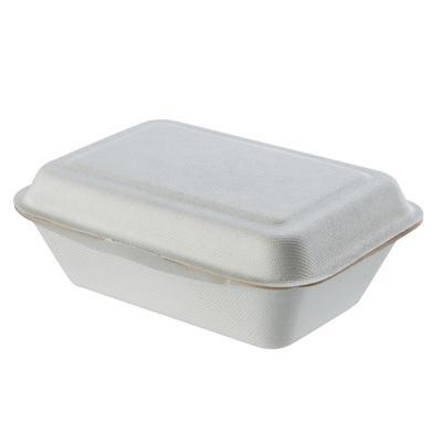 กล่องเยื่อพืช 600 มล.(แพ็ค50ชิ้น) GRACZ SIMPLE B001