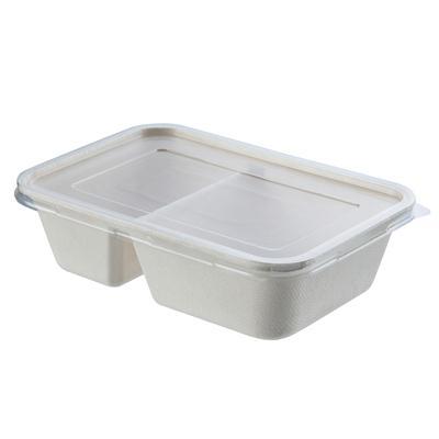 กล่องเยื่อพืช+ฝา 600 มล.(แพ็ค25ชิ้น) GRACZ SIMPLE T621