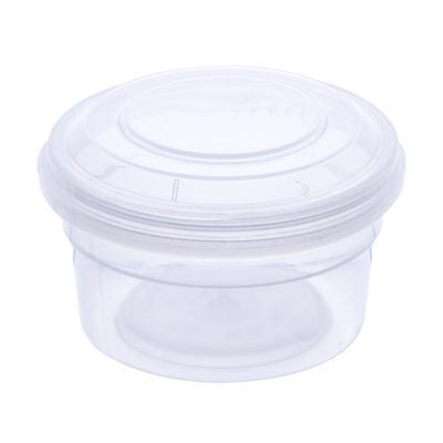 กระปุกพลาสติกซิลกลม ใส 30มล. สแตนดาร์ด RW1631
