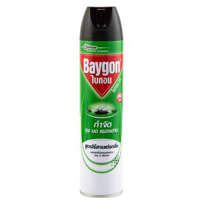 สเปรย์กำจัดยุงมดแมลงสาบ สูตรไร้กลิ่น 600 มล. ไบกอน 23