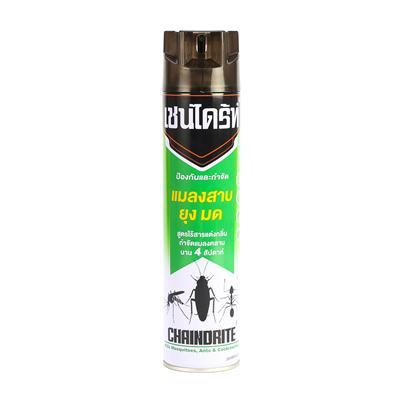 ยาฉีดกำจัดปลวก ยุง ไร้กลิ่น 600 มล. เขียว เชนไดร้ท์ 2