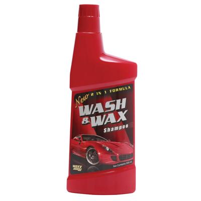 แชมพูล้างรถ 2in1 500 มล. Waxy Wash & Wax