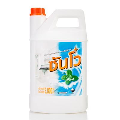 ผลิตภัณฑ์ล้างห้องน้ำสุขภัณฑ์ มิ้นท์ 3.8 ลิตร ซันโว