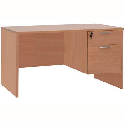 โต๊ะทำงาน+ลิ้ันชัก 2ชั้น บีช เฟอร์ราเดค ST150DA
