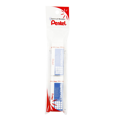 ยางลบดินสอ (แพ็ค2ก้อน) เพนเทล ZEH10