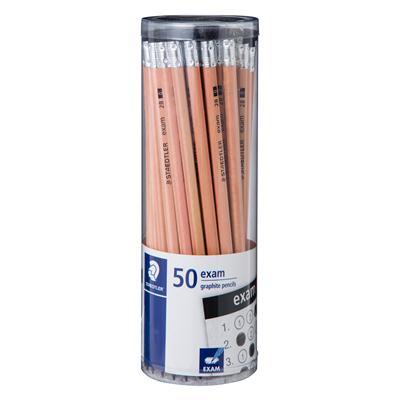 ดินสอดำ 2B (แพ็ค50แท่ง) สเต็ดเล่อร์ Exam