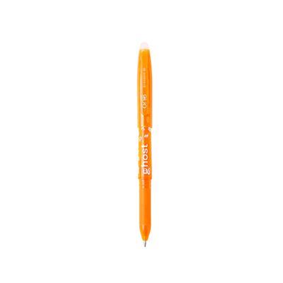 ปากกาหมึกเจลลบได้ 0.5 มม. ส้ม ONE Slim Ghost