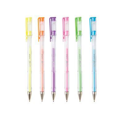 ปากกาเจล 1.0มม. พาสเทล (แพ็ค6ด้าม) คละสี ONE GA103000