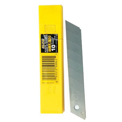 ใบมีดคัตเตอร์ 18 มม. (หลอด10ใบ) โอฟ่า LB-10