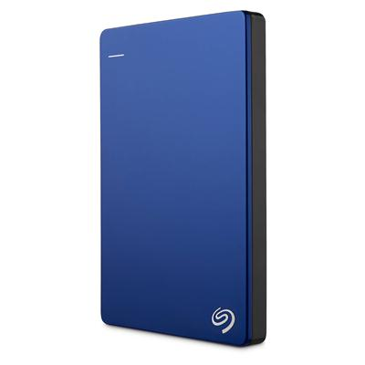 Seagate Backup Plus Slim Portable Hard Drive 1TB สีฟ้า