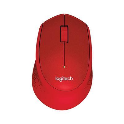 เมาส์ไร้สาย แดง Logitech M331