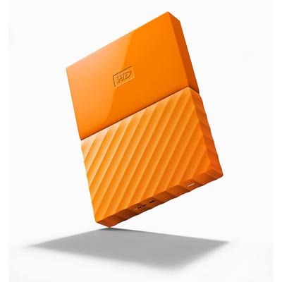 เอ็กซ์เทอร์นัลอาร์ดดิสก์ ส้ม WD NEW MY PASSPORT 1TB