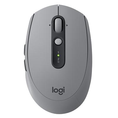 เมาส์ไร้สายแบบเก็บเสียง Bluetooth เทา Logitech M590