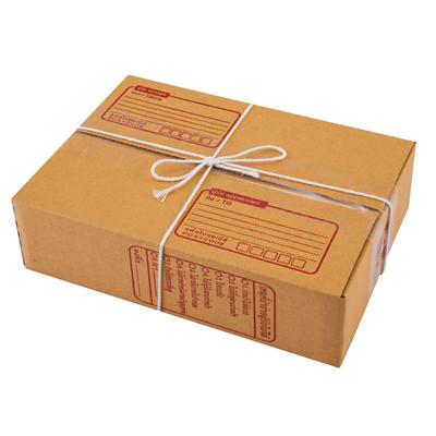 ชุดกล่องพัสดุ A 14x20x6 ซม. น้ำตาล AAA