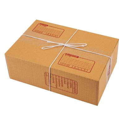 ชุดกล่องพัสดุ B 17x25x9 ซม. น้ำตาล AAA