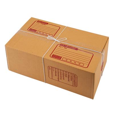 ชุดกล่องพัสดุ D 22x35x14 ซม. น้ำตาล AAA