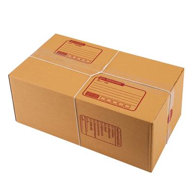ชุดกล่องพัสดุ E 24x40x17ซม. น้ำตาล AAA