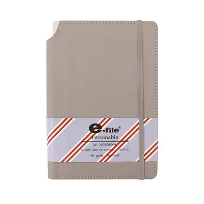 สมุดโน้ต A5 80 แกรม คละสี (96แผ่น/เล่ม) อี-ไฟล์ CNB43