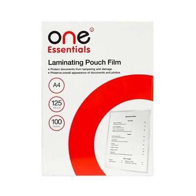 พลาสติกเคลือบบัตร A4 หนา125ไมครอน ONE Essentials