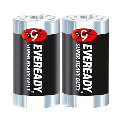 ถ่านคาร์บอนซิงค์ D (แพ็ค2ก้อน) Eveready 1250