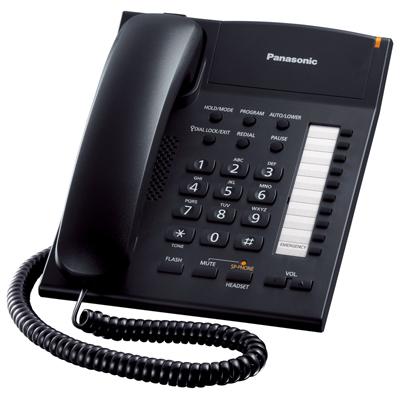 โทรศัพท์ ดำ Panasonic KX-TS840MX