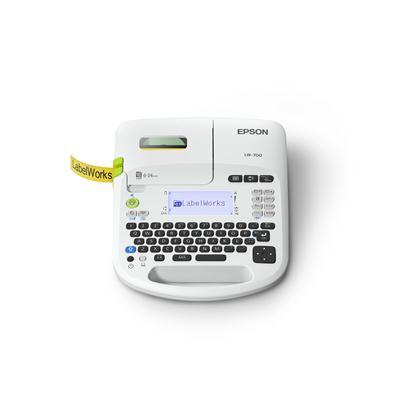 เครื่องพิมพ์อักษร สีขาว Epson LW-700