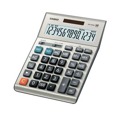 เครื่องคิดเลข เงิน คาสิโอ DM-1400B