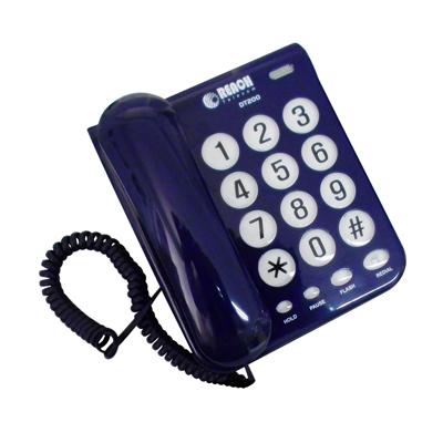โทรศัพท์ สีน้ำเงิน รีช DT-200