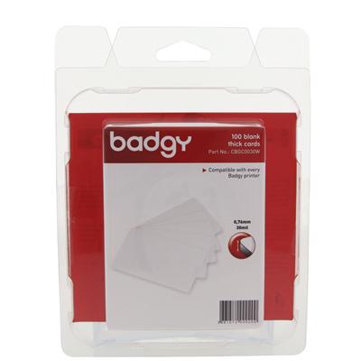บัตรพลาสติก PVC 0.76 มม. (แพ็ค2กล่อง) อีโวลิส