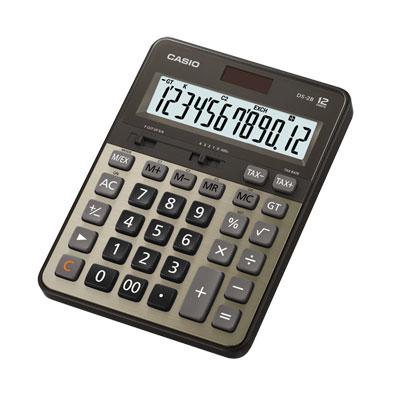 เครื่องคิดเลข สีทอง คาสิโอ DS-2B-GD