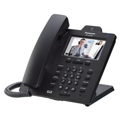 โทรศัพท์สำหรับตู้สาขา สีดำ Panasonic KX-HDV430XB