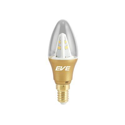 หลอด LED ทรงเปลวเทียน 3 วัตต์ Warmwhite EVE 527508