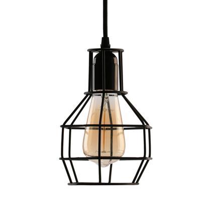โคมไฟห้อยเพดาน ดำ EVE U550506