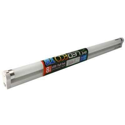 ชุดราง LED ฟลูเซ็ต อีโค 8 วัตต์ Daylight EVE 526273
