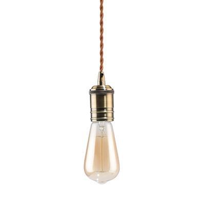โคมไฟห้อยเพดาน น้ำตาล EVE U550643
