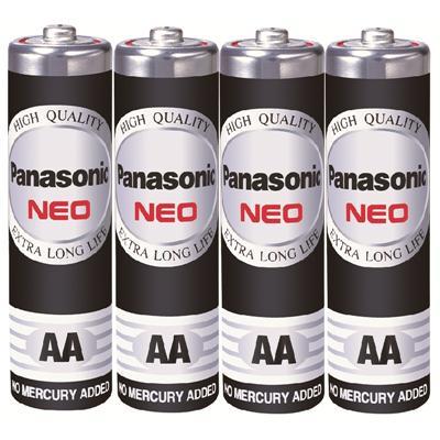 ถ่านไฟฉาย R6NT/4SL AA (แพ็ค 4 ก้อน) Panasonic NEO