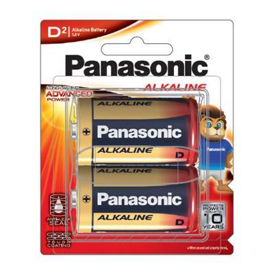 ถ่านอัลคาไลน์ LR20T/2B D (แพ็ค 2 ก้อน) Panasonic
