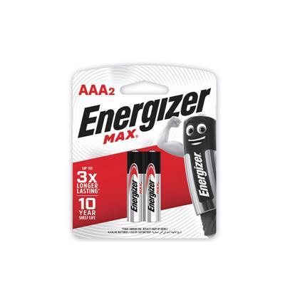 ถ่านอัลคาไลน์ E92-BP2 AAA 1x2 Energizer Max