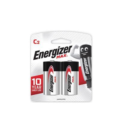 ถ่านอัลคาไลน์ E93-BP2 C (แพ็ค 2 ก้อน) Energizer Max