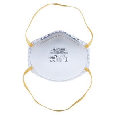 หน้ากากอนามัยป้องกัน2.5 N95 กรองฝุ่น ขาว YAMADA 5230