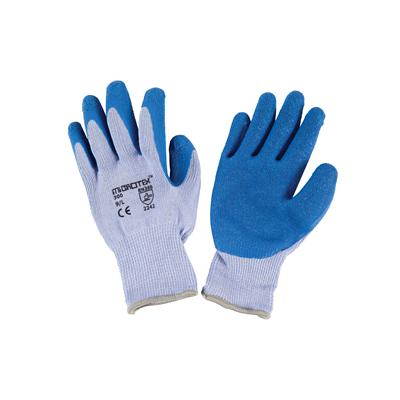 ถุงมือถัก L ฟ้า ไมโครเท็กซ์ 300